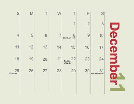 Calendar Family 2011-025