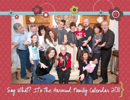 Calendar Family 2011-001