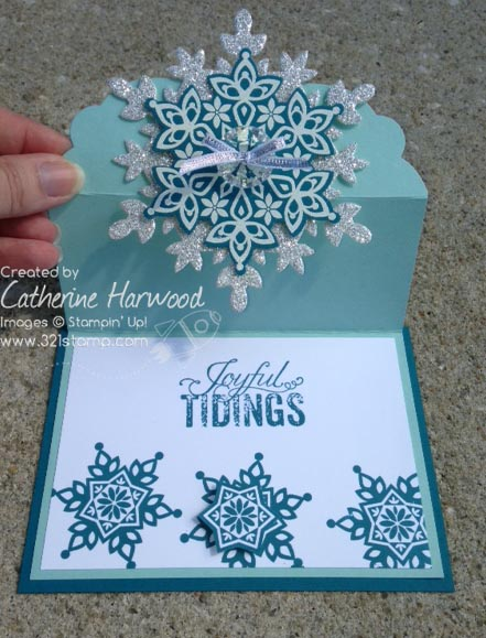 Snowflake-card-open