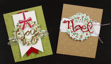 Wreath-cards