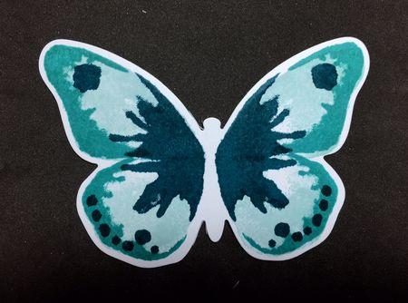 Butterfly-stencil