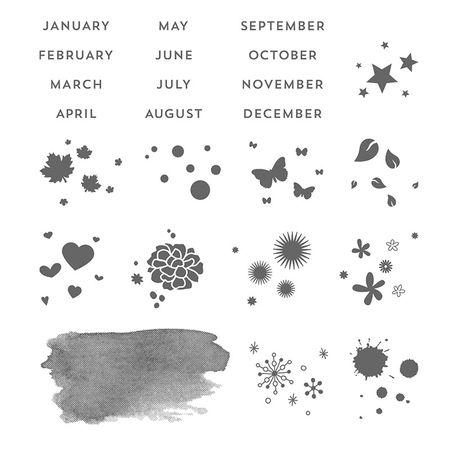 Calendar-stamps